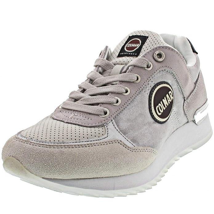 Colmar Sneaker, Colore: Grigio, Grigio (Lt Gray White), 41