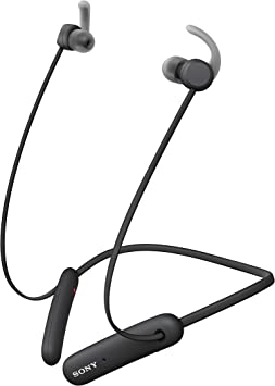 Amazon Com Sony Wi Sp510 Extra Bass Wireless In Ear Headset Headphones With Mic For Phone Call Sports Ipx5 Bluetooth Black Electronics