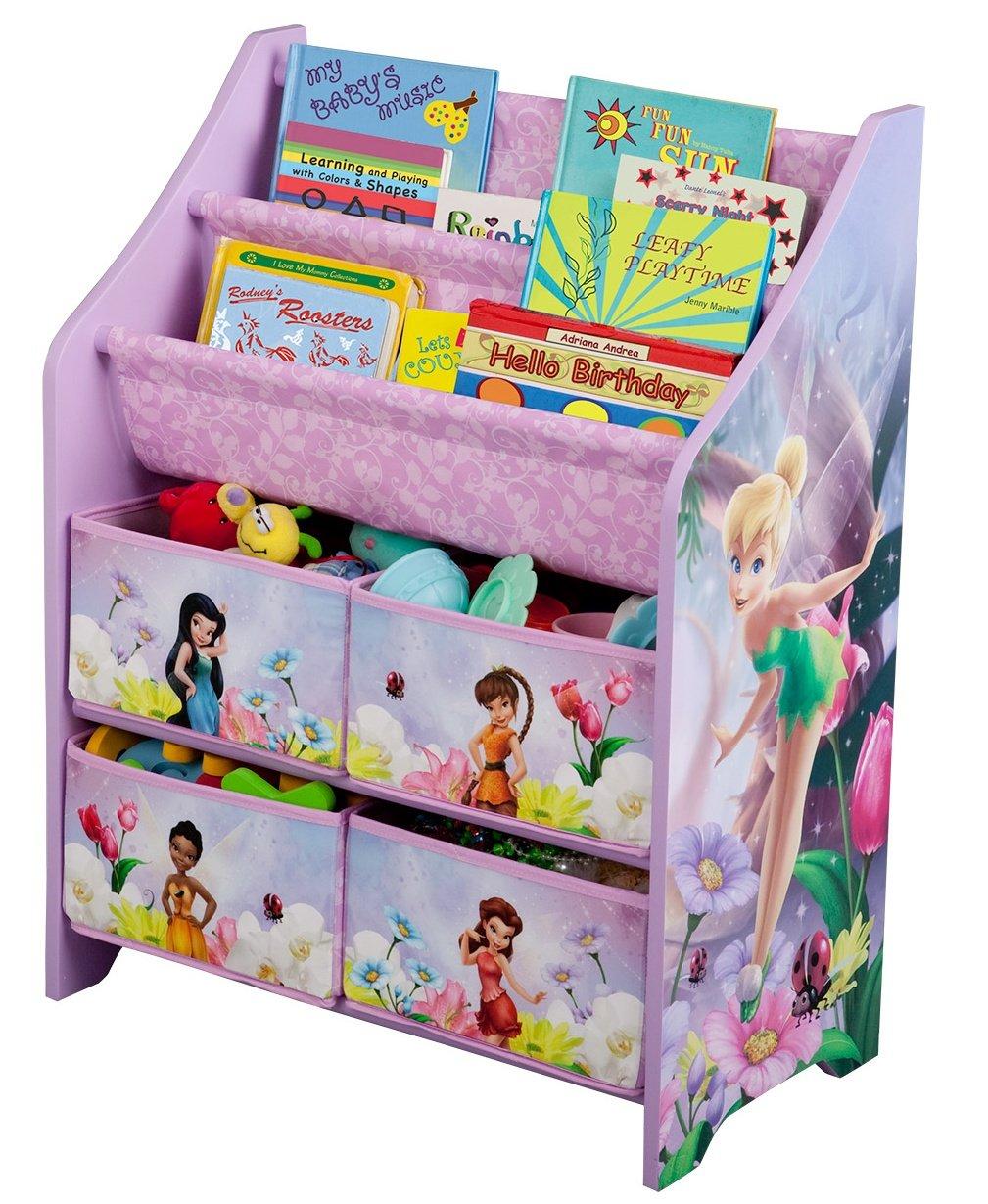 - Amazon.com: Disney Fairies Book And Toy Organizer: Toys & Games