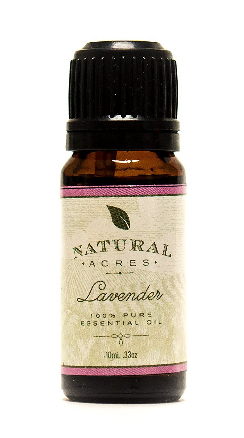 Lavender Essential Oil - 100% Pure Therapeutic Grade Lavender Oil by Natural Acres - 10ml