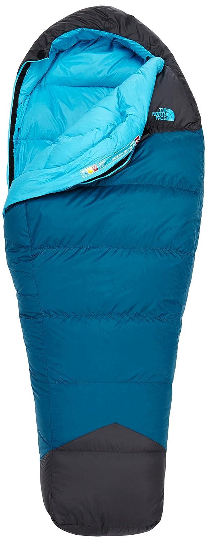 The North Face Womens Blue Kazoo Saco de Dormir, Cierre Derecho, Mujer, Azul, Gris, Regular-RH: Amazon.es: Deportes y aire libre