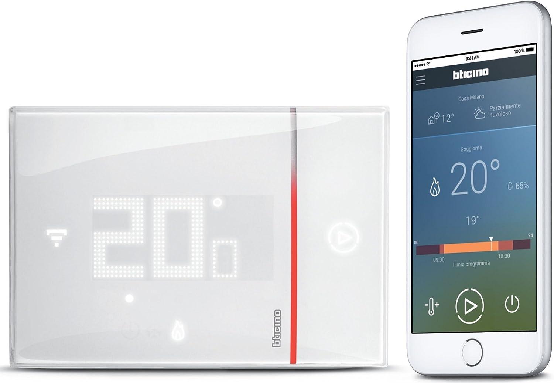 Bticino smarther sx8000/Thermostat avec WiFi int/égr/é Applique Murale