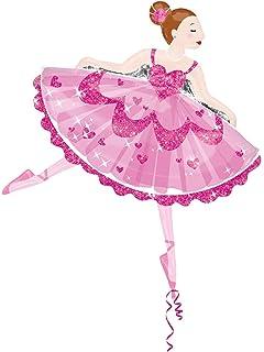 Amazon ballerina birthday party invitation fill in 20 count anagram dancing ballerina shaped mylar balloon 35 filmwisefo