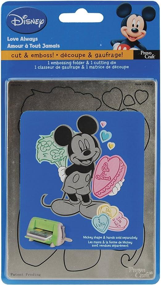 Provo Craft Cuttlebug Disney Cutting Die /& Embossing Folder Celebrations