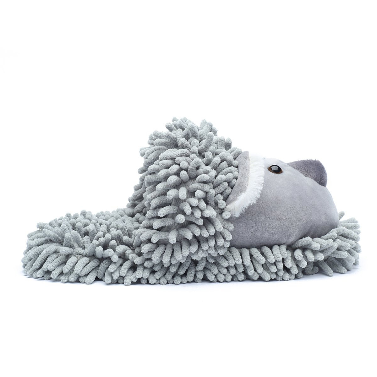 Ofoot Winter Warm Plush Anti-slip Indoor Animal Slippers for Women and Men (M/L 8-10 B(M) US, Grey(Koala)) by Ofoot (Image #5)