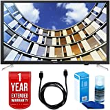 "Samsung UN32M5300AFXZA 32"" LED 1080p Smart HD TV Bundle with TV, Universal Screen Cleaner, 6ft High Speed HDMI Cable, and 1 Year Extended Warranty"