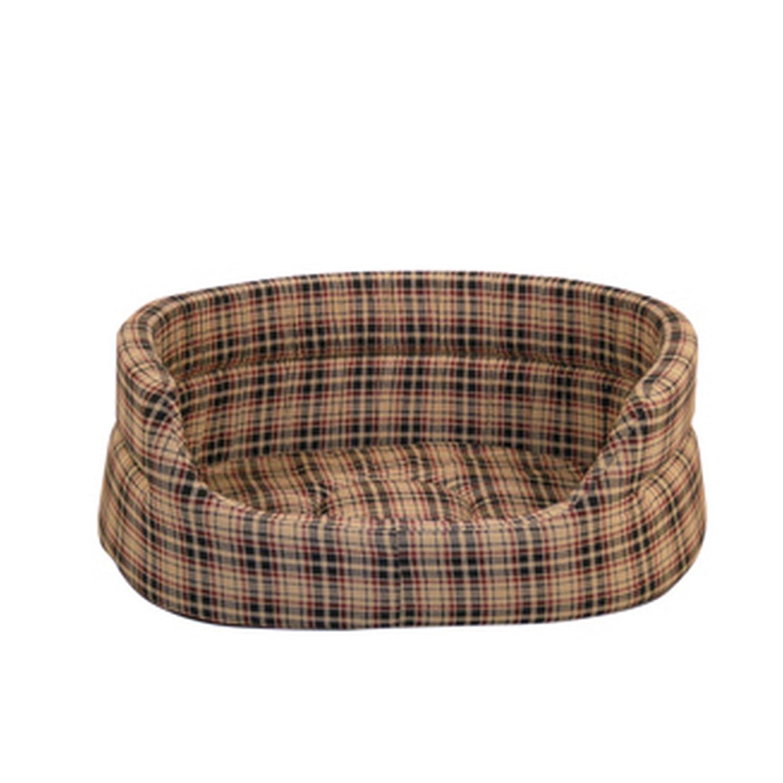 Danish Design Classic Check Cream Slumber Bed 76cm (30)
