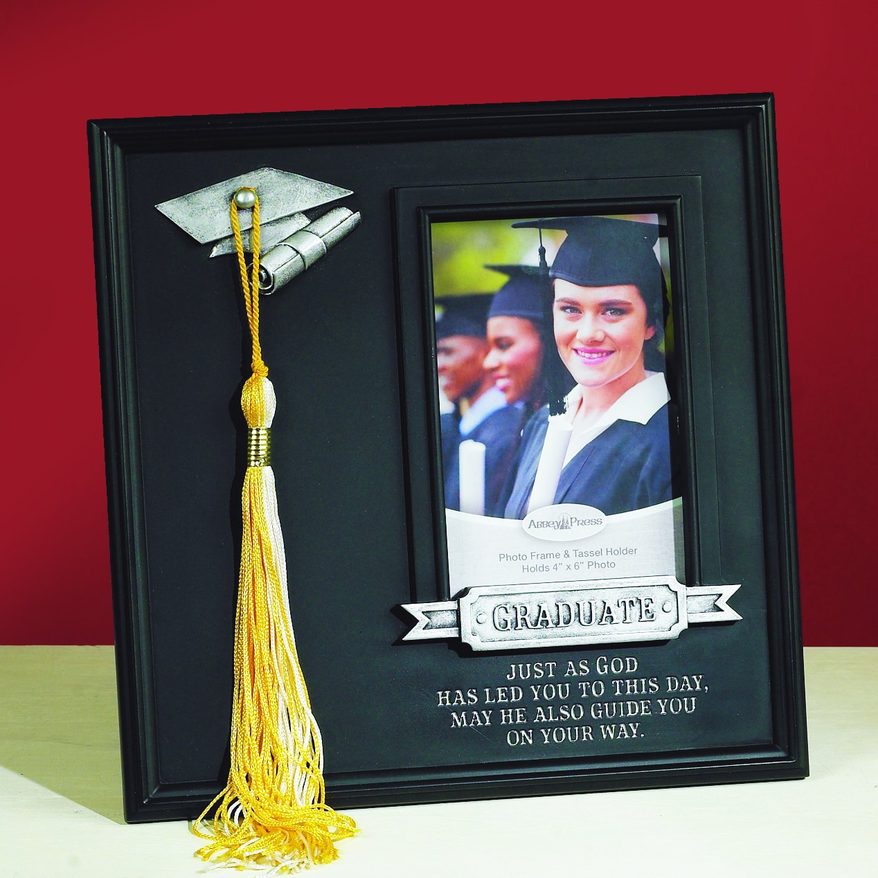 Amazon.com - Abbey Gift Graduate Frame with Tassel Hook -