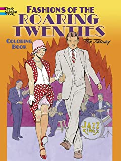 fashions of the roaring twenties coloring book dover coloring books - Dover Coloring Books For Adults