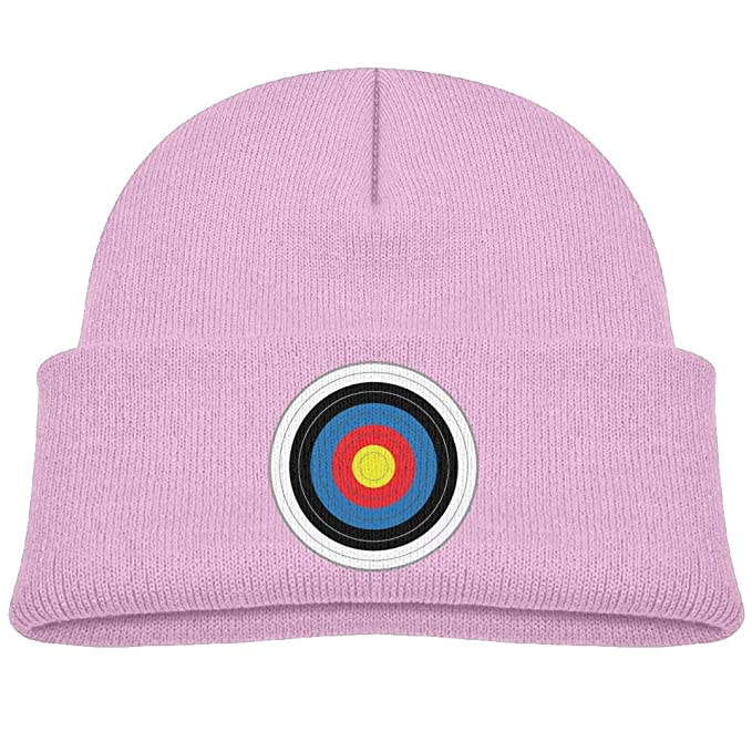 cqelng oii Colored Round Target Knit Hats Beanie Cap Skull Cap Trendy Boy  Baby 8333a002d1b