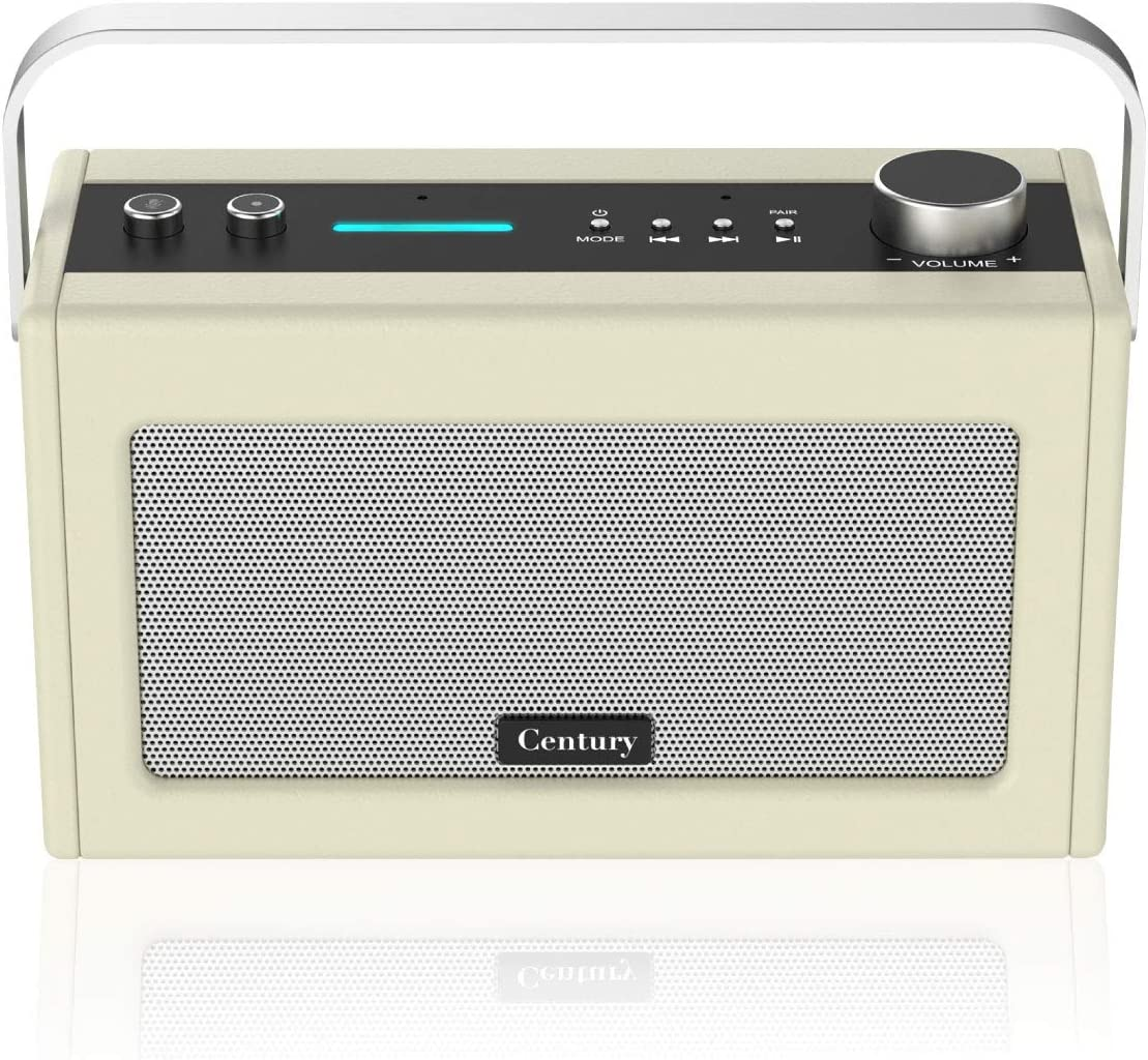 Internet Radio, Smart WiFi Speaker with Alexa, Bluetooth, Smart Home Control, Multi-Room, News and Sport Updates (Cream)