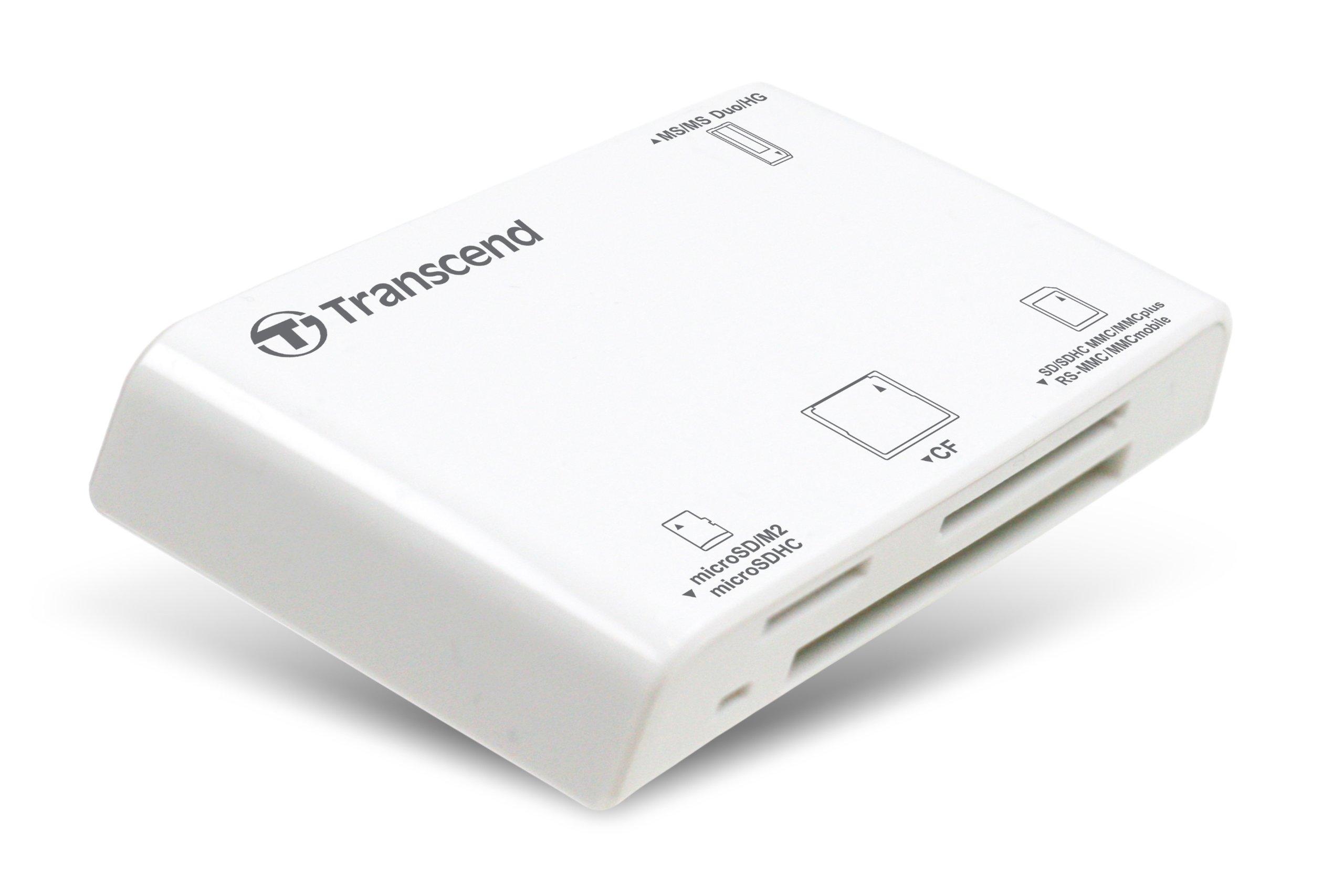 Transcend P8 15-in-1 USB 2.0 Flash Memory Card