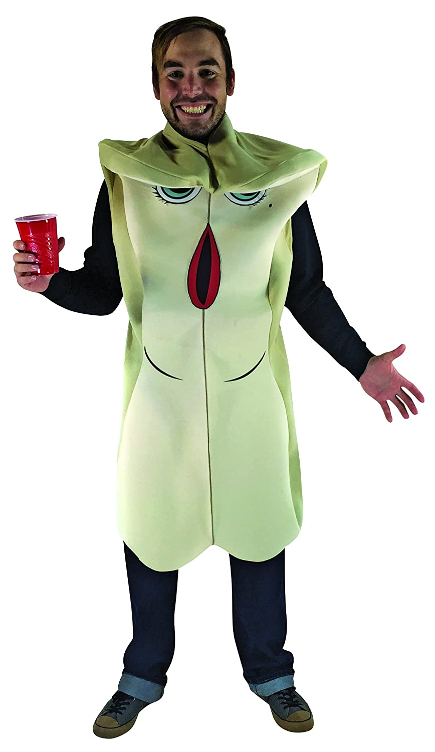 d951b0a295b Amazon.com  Rasta Imposta Sausage Party - Brenda Bun Costume Tan  Clothing