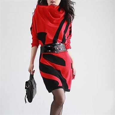 Eault Elegant 2016 Winter Dress Womens vestidos Sweater Batwing Sleeve Slim Hip Dress Long Design Sweater