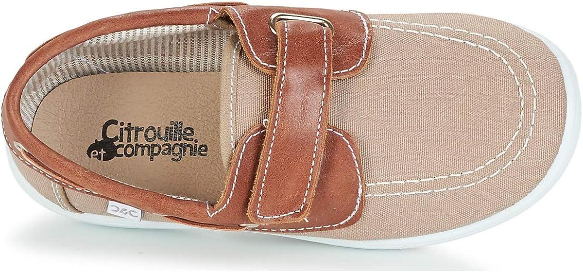 citrouille et compagnie GASCATO Mocassins /& Chaussures Bateau Garcons Taupe Chaussures Bateau
