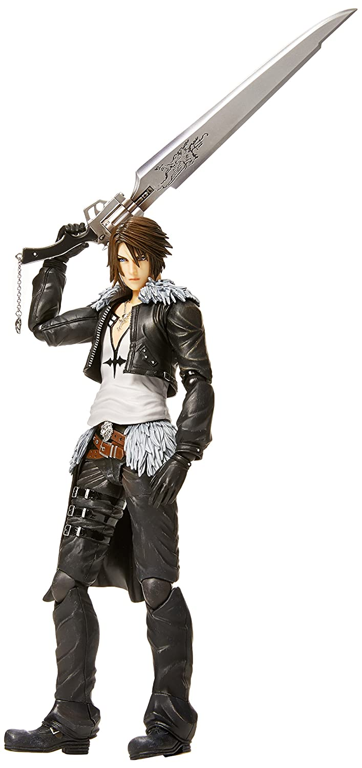 Final Fantasy oct163003 Dissidia Play Arts Kai Squall Leonhart Action Figur