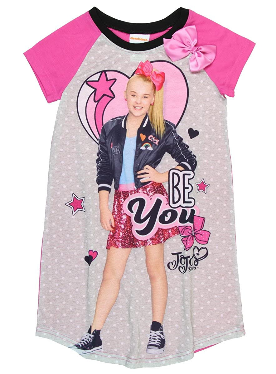 Nickelodeon Jojo Siwa JoJo Siwa Be You Girls Nightgown 6-12