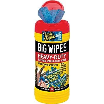 Big Wipes BIG WIPES 80-80 toallitas limpiadoras: Amazon.es: Bricolaje y herramientas