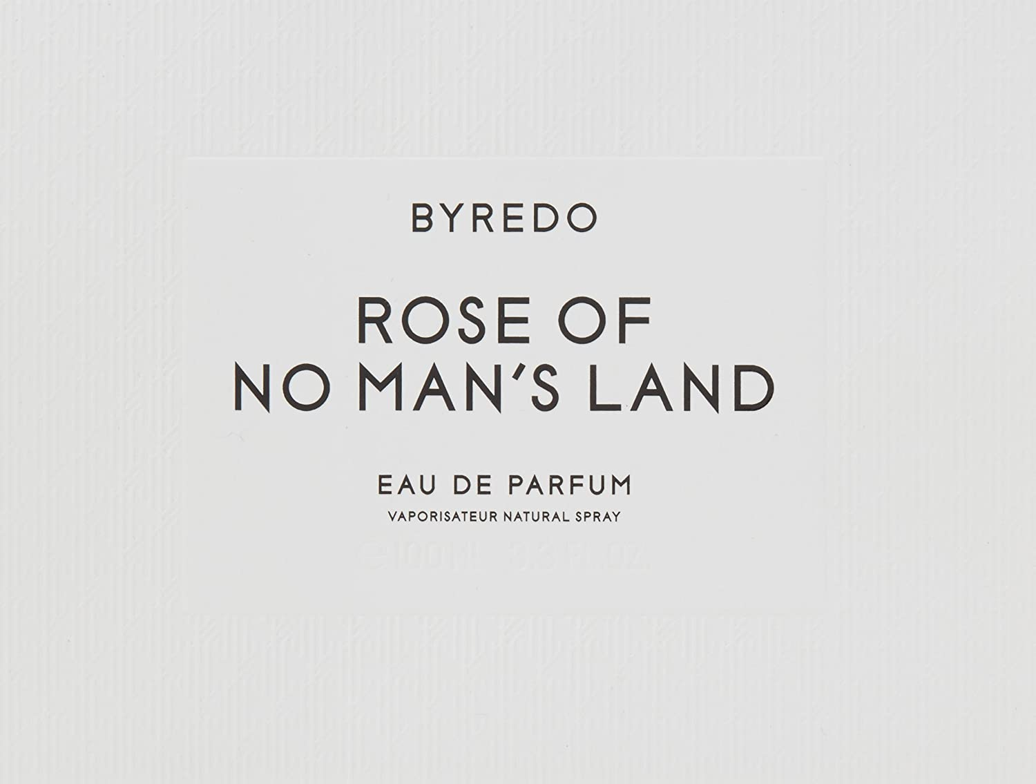 Byredo Rose of No Man s Land Eau De Parfum Spray, 3.3 Ounce