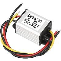 12v to 5v DC Converter, DROK Voltage Regulator Board Power Supply Module, DC 6.3-22V 12V to 5V 3A 15W Waterproof Car…