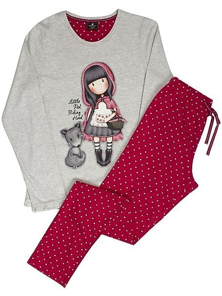 3e78d863d Pijama Mujer Gorjuss Invierno en Caja Libro - Little Red Riding Hood ...