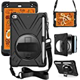 ZenRich iPad Mini 5 Case 2019 iPad Mini 4 Case 2015 zenrich Heavy Duty Shockproof Rugged Case with Pencil Holder…