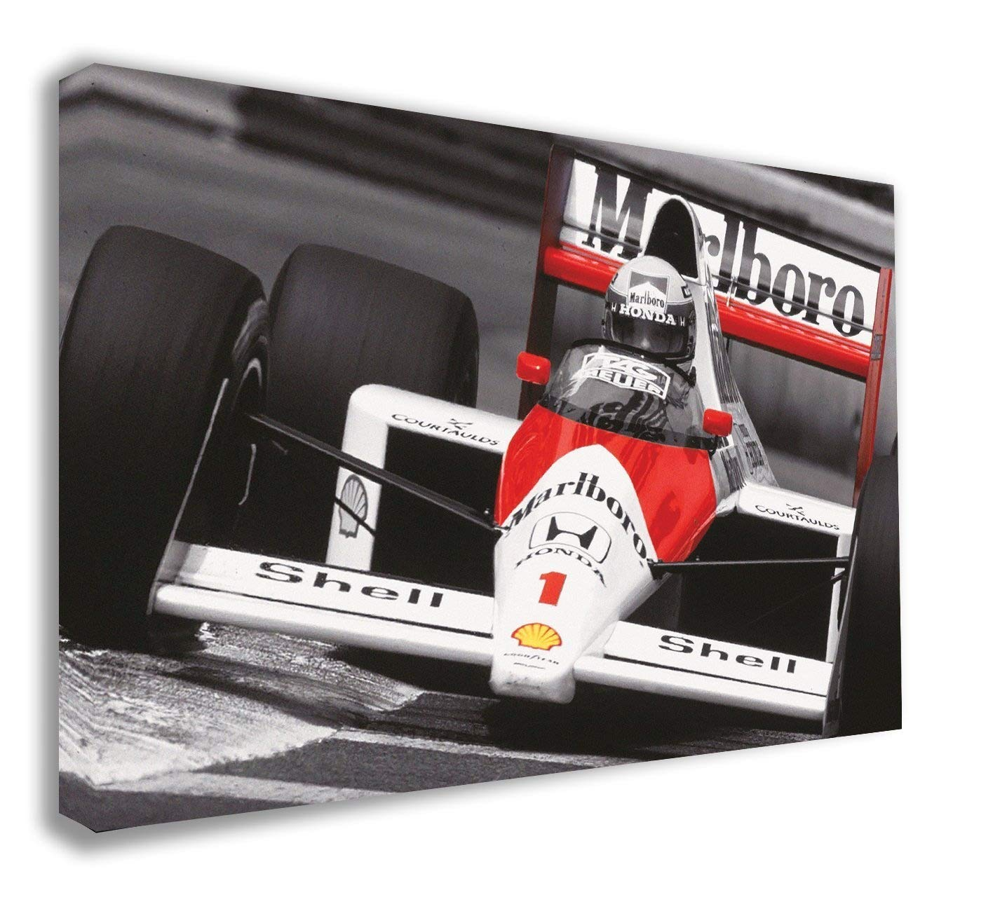 SENNA  STRETCHED AND FRAMED CANVAS
