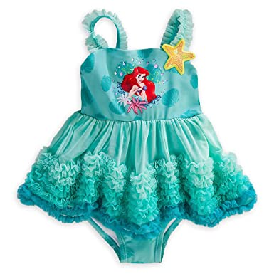 Store Deluxe Ariel The Little Mermaid Teal Tama?o del traje ...
