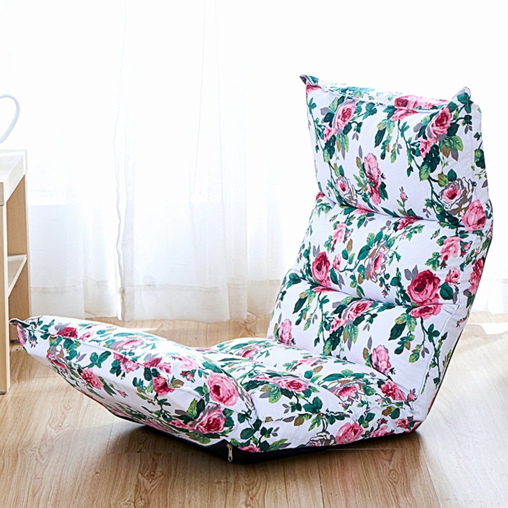 Liegen Liegen Liegen MAZHONG Faule Sofa Faltbare Stoff persönliche Sofa Stuhl Wohnzimmer Schlafzimmer Balkon Büro - geeignet für Indoor und Outdoor (Farbe : B) 7b2230