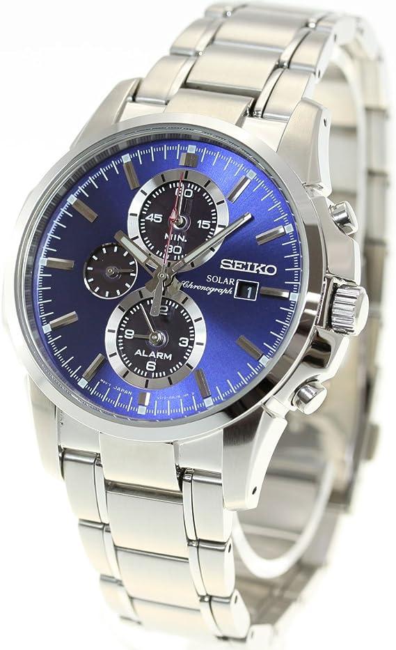 [セイコー] SEIKO 腕時計 ソーラー 海外モデル クロノグラフ SSC085P1 メンズ [逆輸入品]