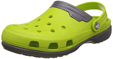 7830971eddc Crocs Unisex Duet Volt Green/Graphite 9 Women / 7 Men M US