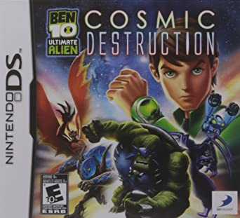 Ben 10 Ultimate Alien Cosmic Destruction Nintendo Ds Juego