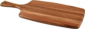 KARRYOUNG Acacia Wood Cutting Board - Wooden Kitchen Chopping Boards for Meat, Cheese, Bread, Vegetables &Fruits- Knife Friendly Kitchen Butcher Block,17 x 7 Inch