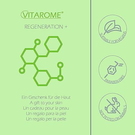 Vitarome - Crema de día antiarrugas REGENERATION+ con algas revitalizantes, sin parabenos, 50 ml