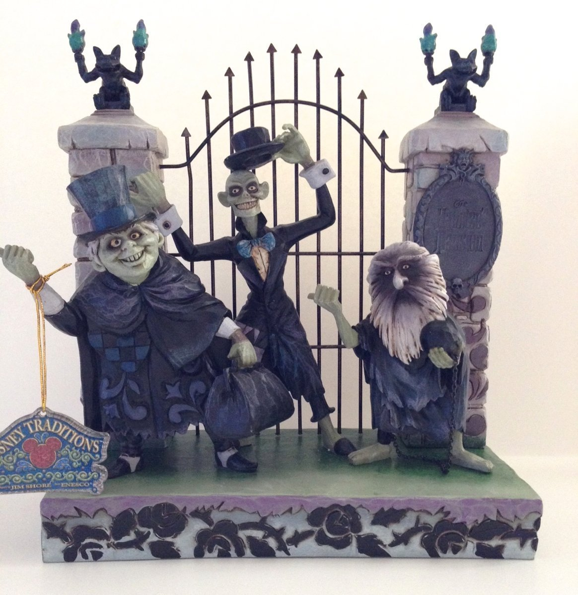 Disney Haunted Mansion Hitchhiking Ghosts Figurine - Jim Shore