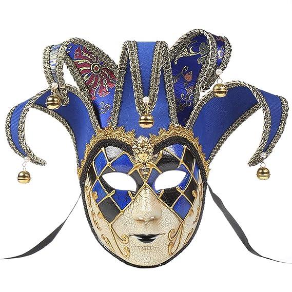 Zhhlaixing Máscara de Bola de Mascarada Veneciana Mascara ...