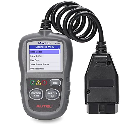 Autel MaxiTPMS PAD TPMS Sensor Programming Accessory Device 433MHz/315MHZ  Sensor Universal Programmer (319)