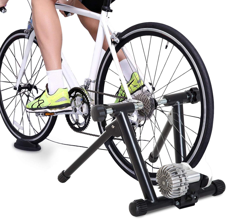 HOMCOM Rodillo Entrenamiento para Bicicleta Plegable Entrenador ...