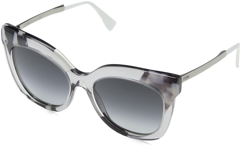 12c874106142 Amazon.com  Fendi Womens Women s 0179 S 53Mm Sunglasses  Clothing