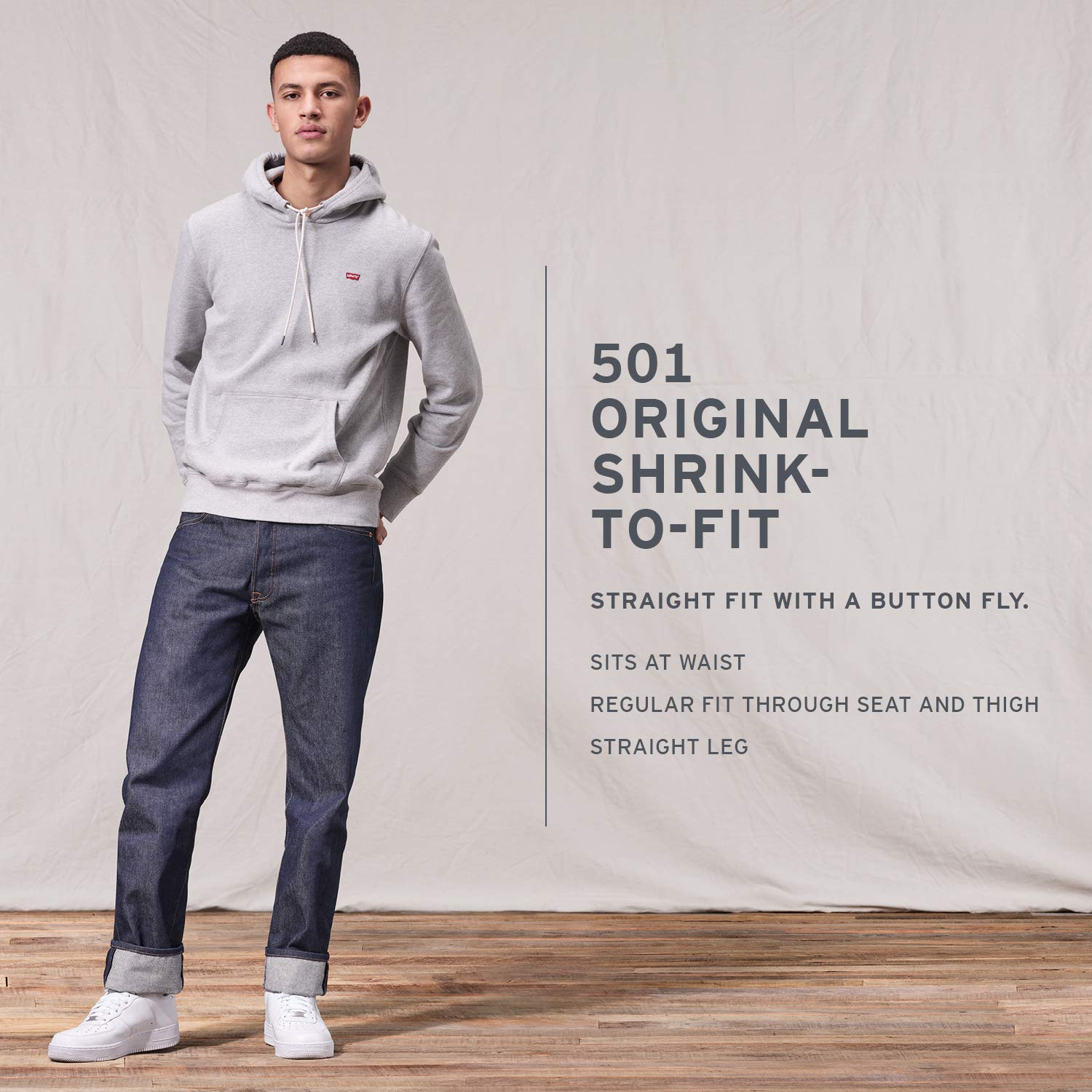 Levi's 00501-2538 Jeans Homme Gulf Stream/Stf