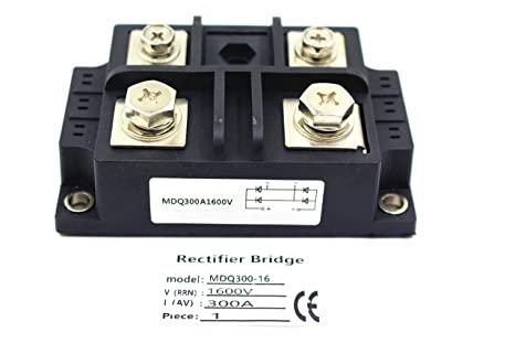 150A Amp 1600V Single-Phase Diode Bridge Rectifier Singe Phase Bridge Rectifier Module