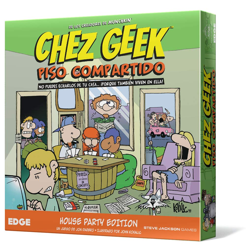 Edge Entertainment- Chez Geek: Piso compartido - Español, Color ...