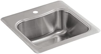 KOHLER K 3363 1 NA Staccato Single Basin Self Rimming Entertainment