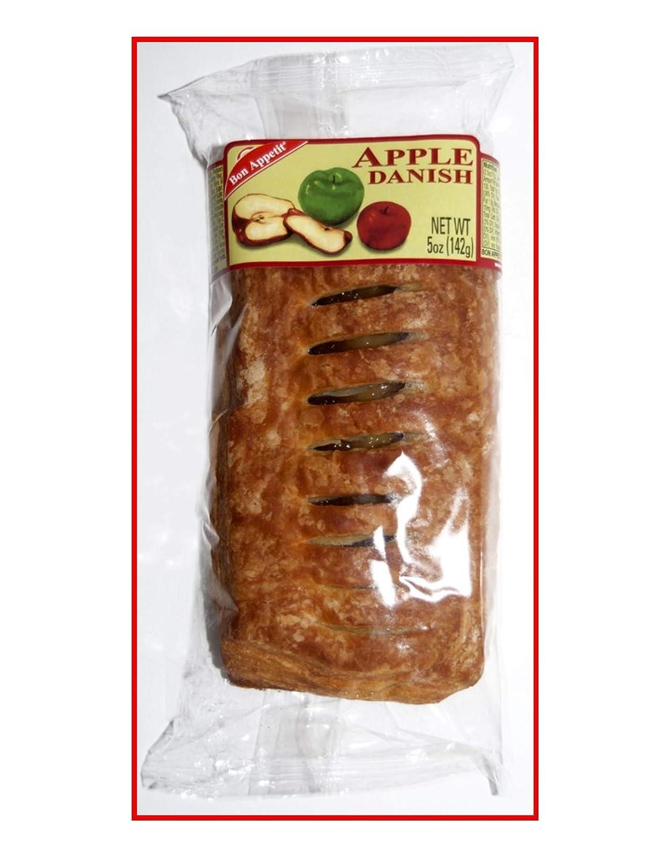 Bon Appetit Apple Danish, 5 Ounce (Pack of 8)
