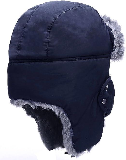 Amazon.com: HindaWi juego de gorra y bufanda para la nieve ...