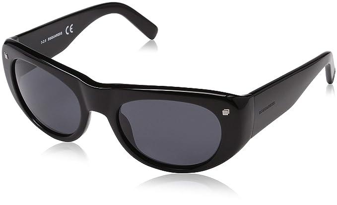 DSQUARED2 D Squared Gafas de sol, Negro (Black), 55.0 para ...