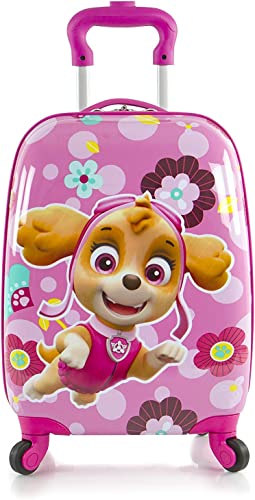 Nickelodeon PAW Patrol Girl's 18 Rolling Carry On Luggage
