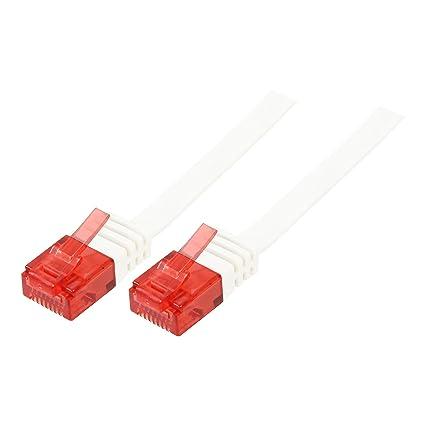 1,5m CAT6a Patchkabel Verlängerung Netzwerkkabel Ethernet LAN DSL RJ45 Kabel