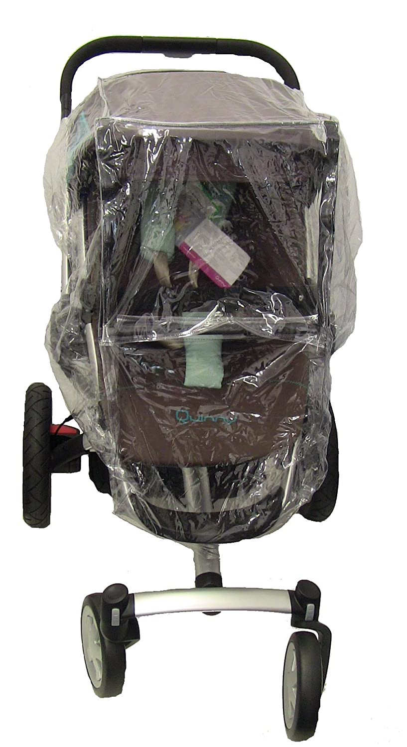 Koodee Raincover to Fit Quinny Buzz Pushchair for Newborn (Transparent) buzz1