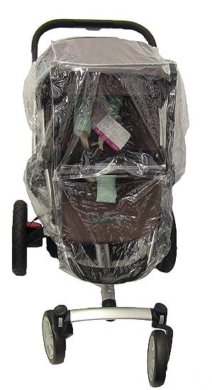 Koodee - Protector para lluvia para cochecito Quinny Buzz carrito de bebé para recién nacido (transparente): Amazon.es: Bebé